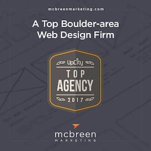 McBreen Marketing Has Been Named a Top Boulder, CO Web Design Firm