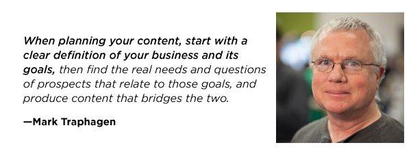 Mark Traphagen quote