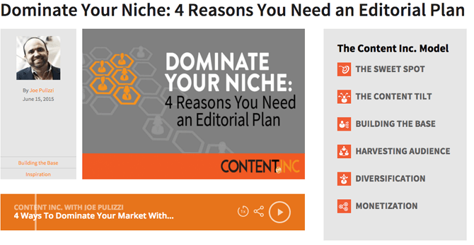 Dominate Your Niche—4 Reasons You Need an Editorial Plan