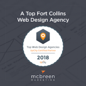 McBreen Marketing Has Been Named a Top Fort Collins Web Design Agency