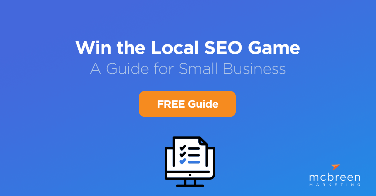 Win the Local SEO Game. A guide for small business.