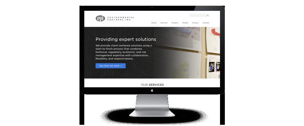 Environmental Partners (EPI) website