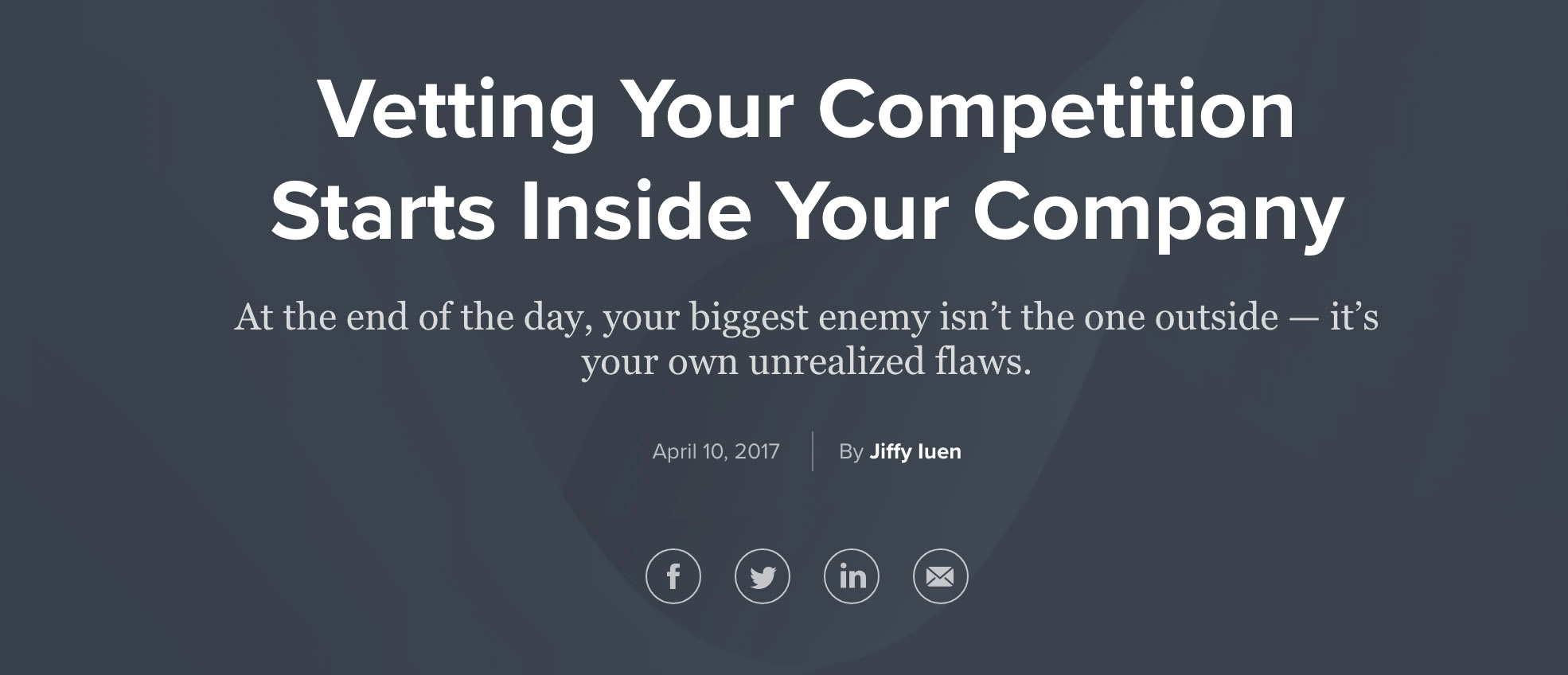 Vetting Your Competition copy