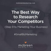 The Best Way to Research Your Competitors – McBreen Marketing | Fort Collins, CO