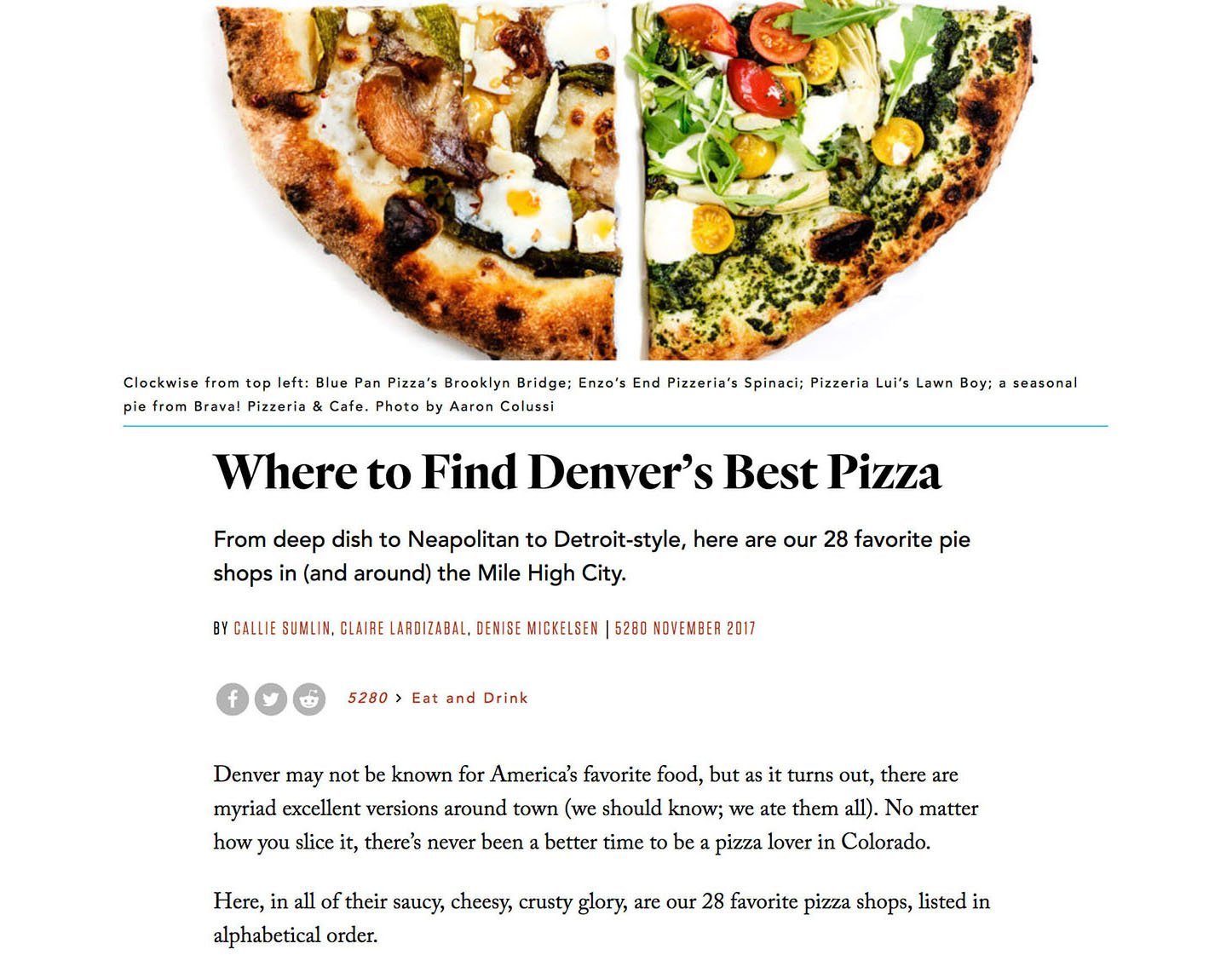 This where to find Denver's best pizza is a great example of a roundup page – McBreen Marketing