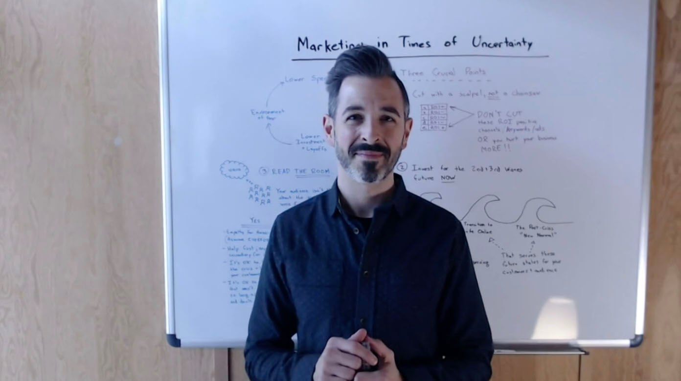 Marketing in Times of Uncertainty - Rand Fishkin
