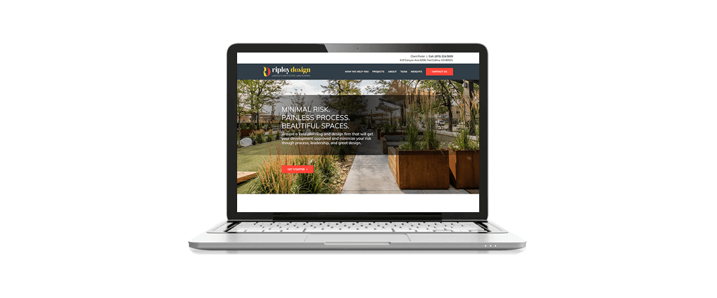 Ripley Design site – McBreen Marketing Fort Collins, CO